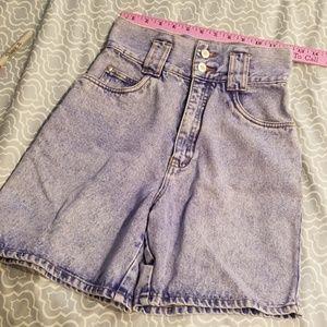 High wasted shorts EUC